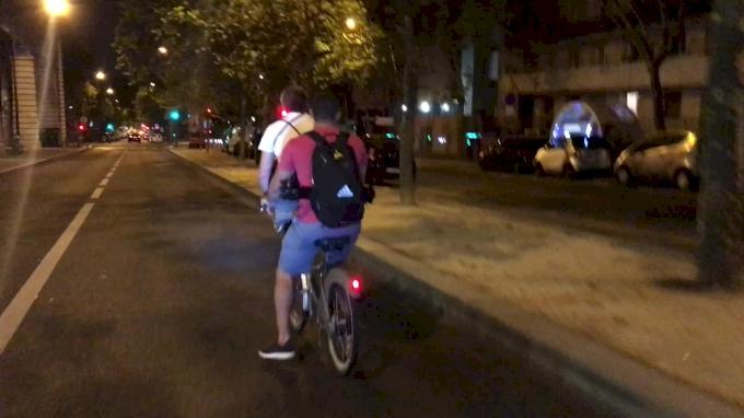 Bike Ride In Paris