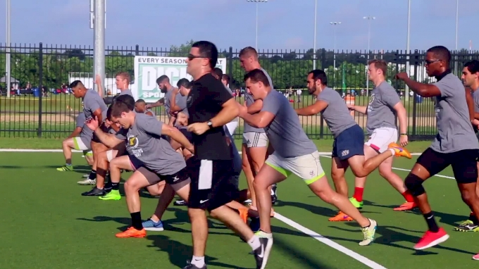Athletes Put It On The Line At Houston Strikers Combine