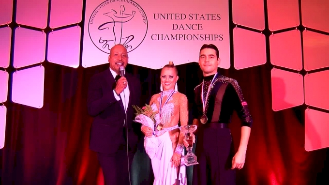 Interview with 2017 USDC Professional American Rhythm Champions