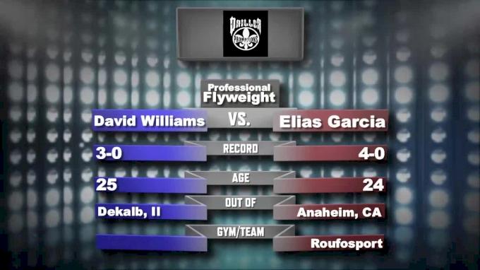 Eli Garcia vs. David Williams - Driller Promotions - Mecca X Replay