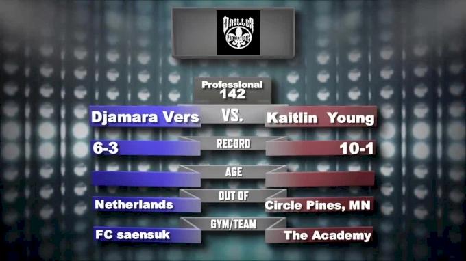 Kaitlin Young vs. Djamara Vers - Driller Promotions - Mecca X Replay