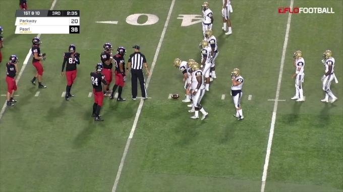 Jaylon Stovall 41-Yard TD Run