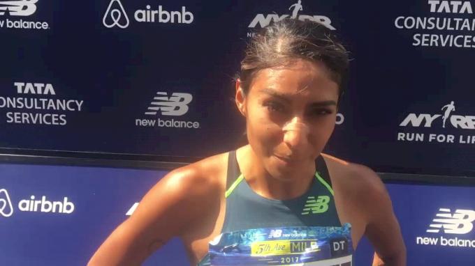 Brenda Martinez is a 1500m runner now