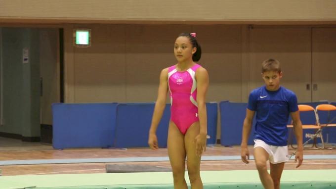 Team USA Tumbling - Training Day 1, 2017 International Junior Japan