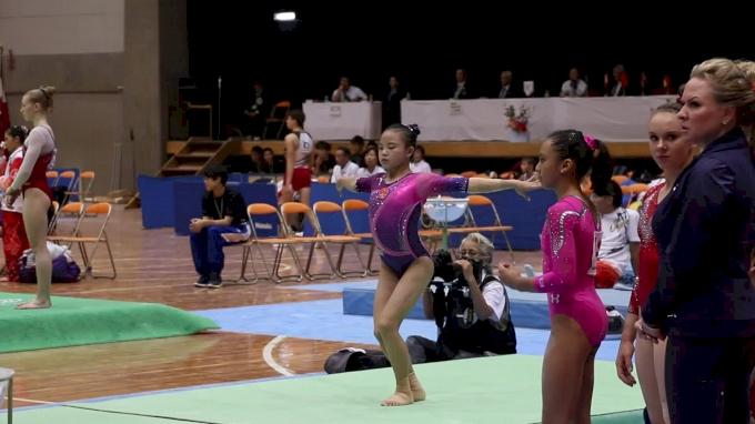 Li Qi - Beam, China - AA Competition, 2017 International Junior Japan