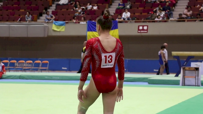 Maile O'Keefe - Floor, USA - AA Competition, 2017 International Junior Japan