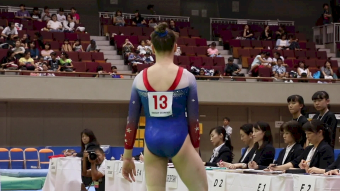 Maile O'Keefe - Floor, USA - Event Finals, 2017 International Junior Japan