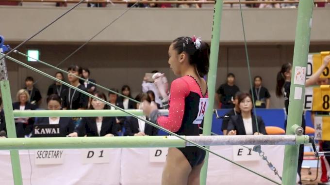 Emma Malabuyo - Bars, USA - Event Finals, 2017 International Junior Japan