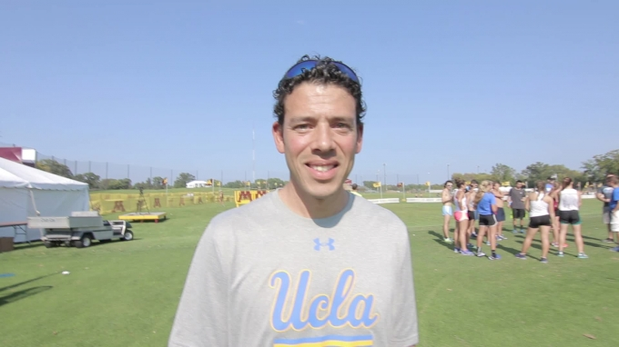 Coach Devin Elizondo talks returning to UCLA, his alma mater, and being roommates with Meb
