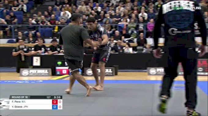 Felipe Pena vs Yukiyasu Ozawa ADCC 2017 World Championships