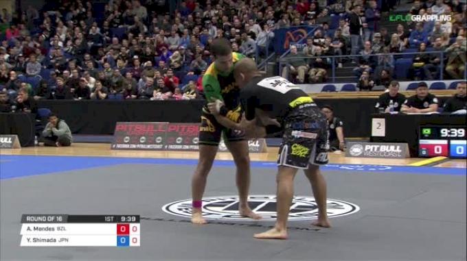 Augusto Mendes vs Yuta Shimada ADCC 2017 World Championships