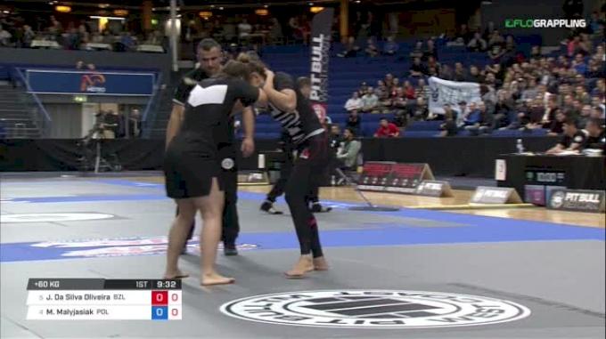 Jessica Da Silva Oliveira vs Marysia Malyjasiak ADCC 2017 World Championships