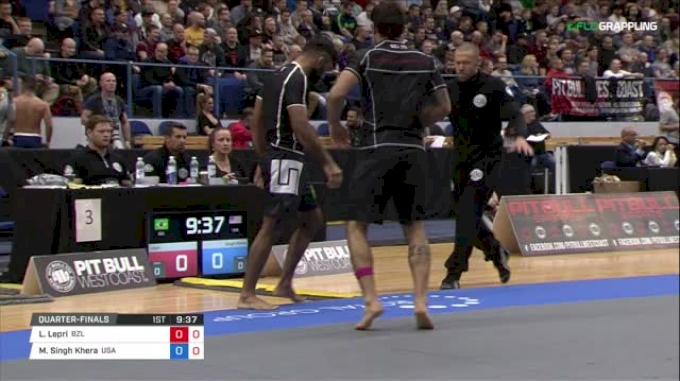 Lucas Lepri vs Mansher Singh Khera ADCC 2017 World Championships