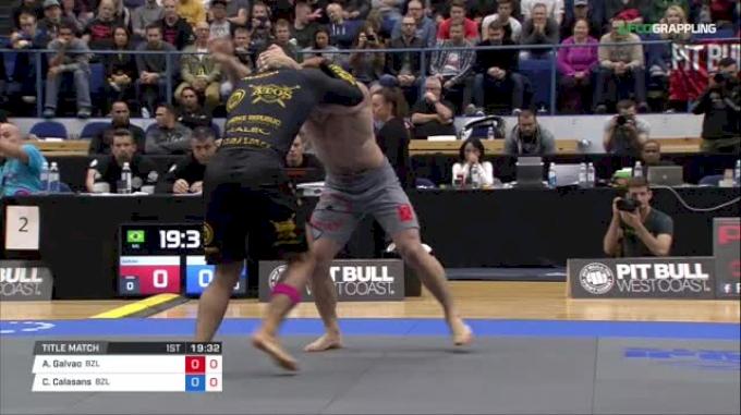 Andre Galvao vs Claudio Calasans ADCC 2017 World Championships
