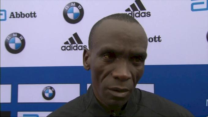 Eliud Kipchoge Still Thinks He Can Break The World Record