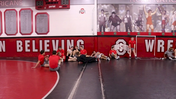 Ohio State Before Practice