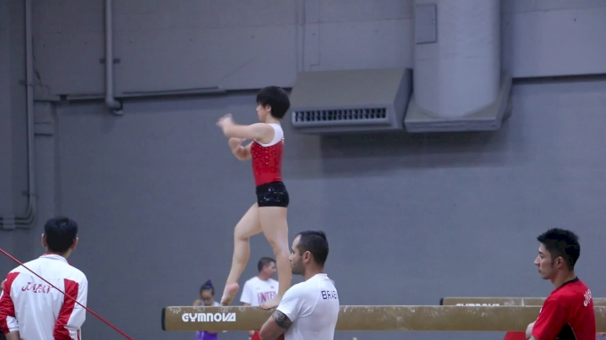 Mai Murakami (JPN) Training Beam - Training Day 1, 2017 World Championships