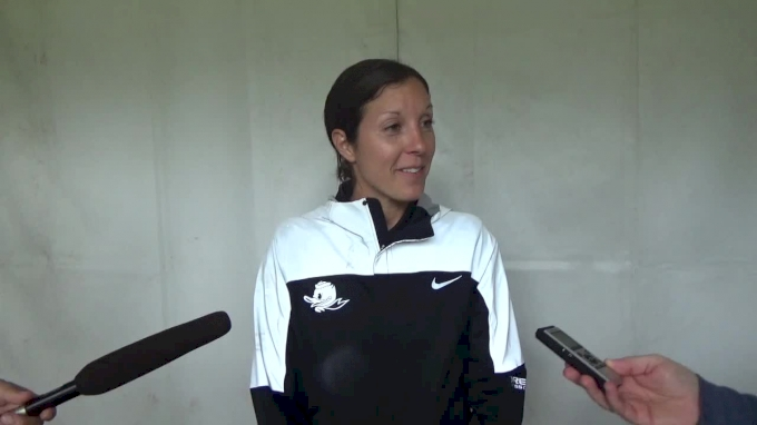 Maurica Powell after Oregon women open season with win