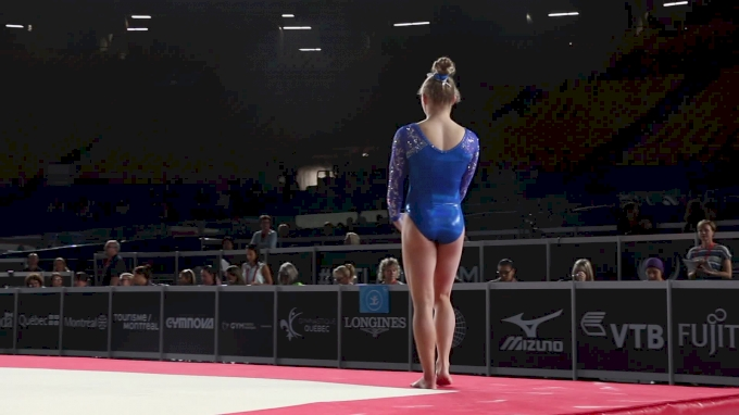Jade Carey - Floor, USA - Official Podium Training - 2017 World Championships