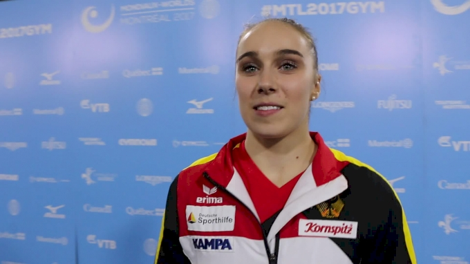 Tabea Alt (GER) On Finishing Top 10 In First Worlds - Women's AA Final, 2017 World Championships