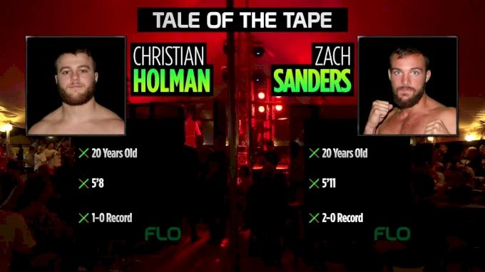 Christian Holman vs. Zach Sanders Bar Battles Rumble On The River Replay