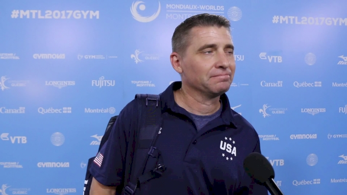 Brian Carey On Not Rushing Jade Into Elite & Father-Daughter Relationship - Event Finals, 2017 World Championships