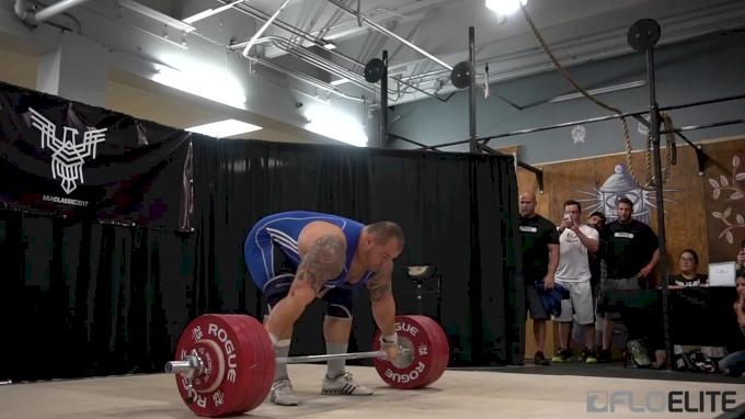 Fernando Reis Snatches 190kg At MIA 2017