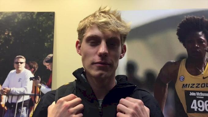 Triathlon champion Austin Hindman on adjusting to college life and choosing Missouri