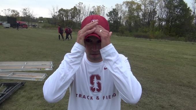 Stanford coach Chris Miltenberg on redshirting Thomas Ratcliffe and racing true freshmen