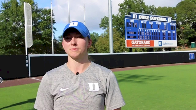Lacey Waldrop: Changeup Long Toss