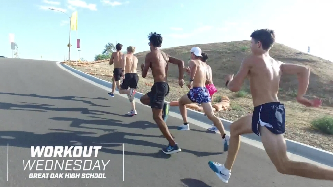 Workout Wednesday: #2-Ranked Great Oak Charges Through Hill Repeats