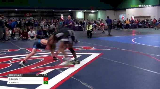 120 Semi-Finals - Adam Busiello, NY vs Malyke Hines, FL
