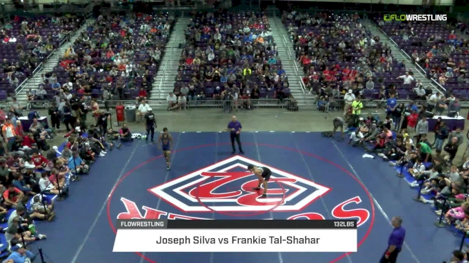 132 lbs Final - Jesse Vasquez, CA vs Joseph Silva, FL
