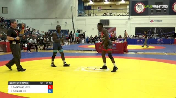 63 Quarter-Finals - Xavier Johnson, Marines vs Ryan Mango, U.S. Army