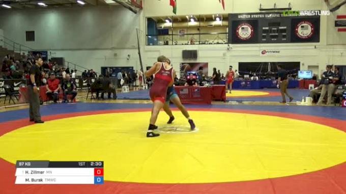 97 Semi-Finals - Hayden Zillmer, Minnesota Storm vs Micah Burak, TMWC