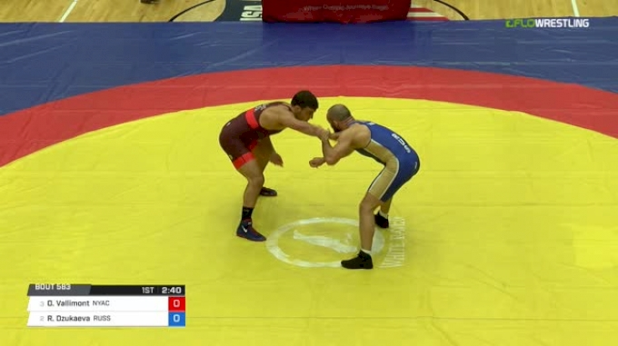74 Semi-Finals - Dan Vallimont, NYAC vs Rasul Dzukaeva, Russia