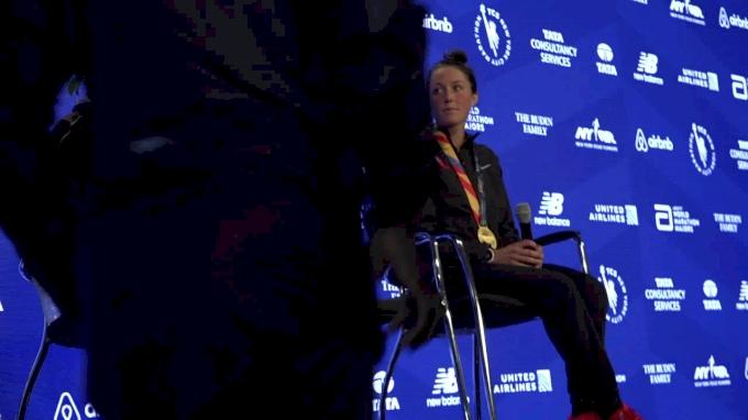 TCS New York City Marathon Women's Press Conference