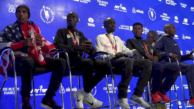 TCS New York City Marathon Men's Press Conference