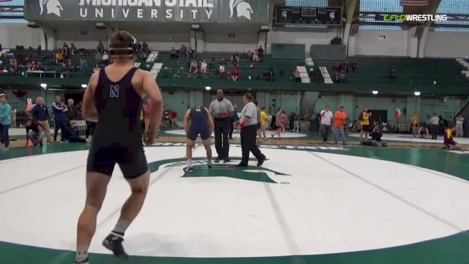184- Semifinal, Dominick Abounader (University Of Michigan) vs Mitchell Sliga (Northwestern)