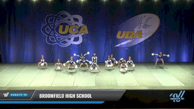 Broomfield High School [2017 Medium Varsity - Pom Day 1] 2017 UCA & UDA Mile High Championship
