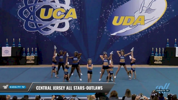 Central Jersey All Stars-Outlaws [2017 L2 Senior Day 2] 2017 UCA Northeast Championship