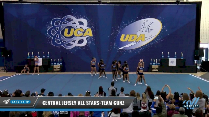 Central Jersey All Stars-Team Gunz [2017 L5 Senior Coed - Small Day 2] 2017 UCA Northeast Championship