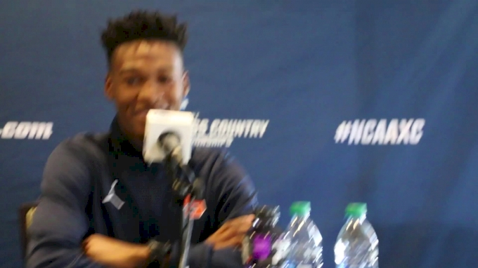 Justyn Knight on returning to Louisville two years after Syracuse's first NCAA XC win