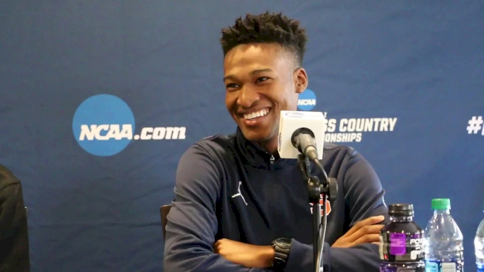 Justyn Knight, Grant Fisher evaluate each other at pre-meet press conference