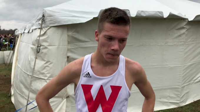 Western Oregon's David Ribich went out hard and faded, but still notches 30th place