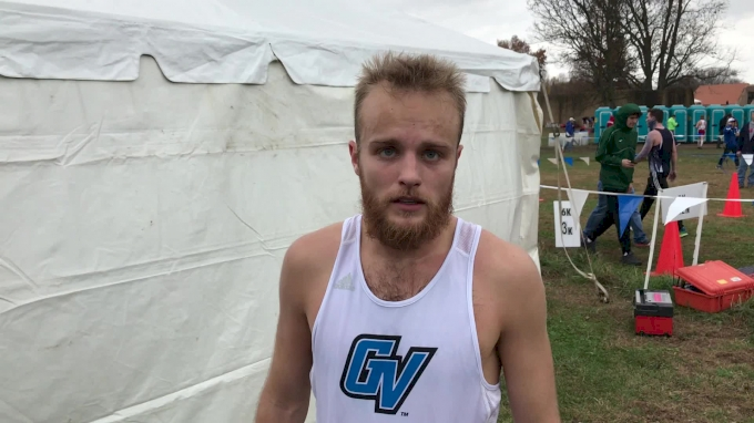 Zach Panning leads Grand Valley men to runner up finish With individual 2nd
