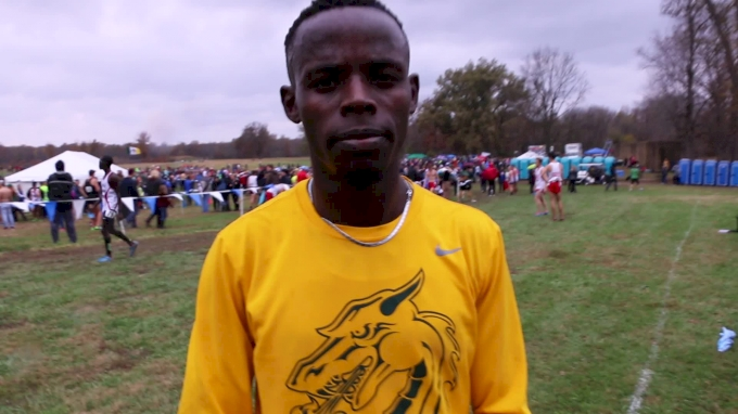 James Ngandu NCAA DII Men's Champion