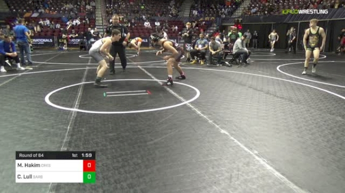 145 lbs Round Of 64 - Moe Hakim, Crestwood vs Collin Lull, Sarbacker Wrestling Academy