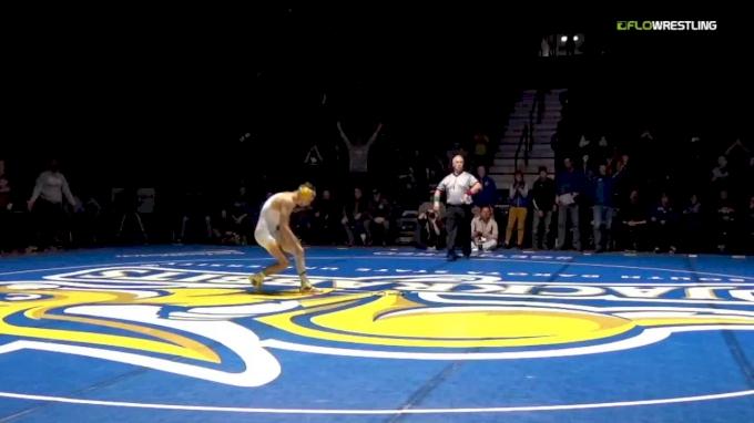 141 m, Seth Gross, SDSU vs Bryce Meredith, Wyoming