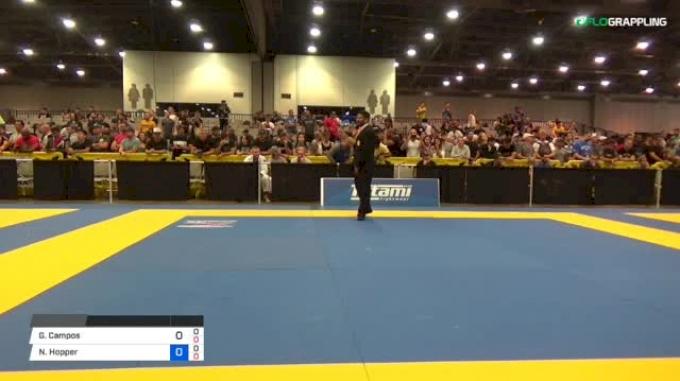 Gustavo Campos vs Nicholas Hopper 2018 World Master IBJJF Championship